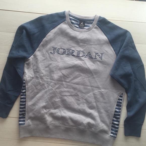 a456f00d3029 Jordan Men Jumpman logo sweatshirt crewneck Sz 2XL
